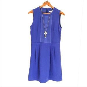 Madewell Cobalt Blue Mini Dress